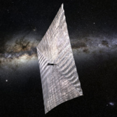 LightSail centered with Milky Way thumbnail