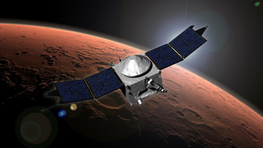 MAVEN arrives at Mars