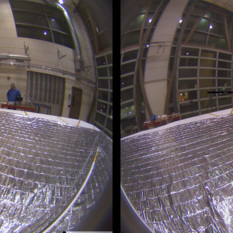 LightSail onboard camera timelapse