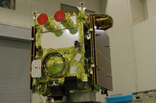 Opposite face of Hayabusa 2