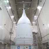 Orion buttoned up for EFT-1