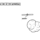 XKCD: Rosetta and Philae landing