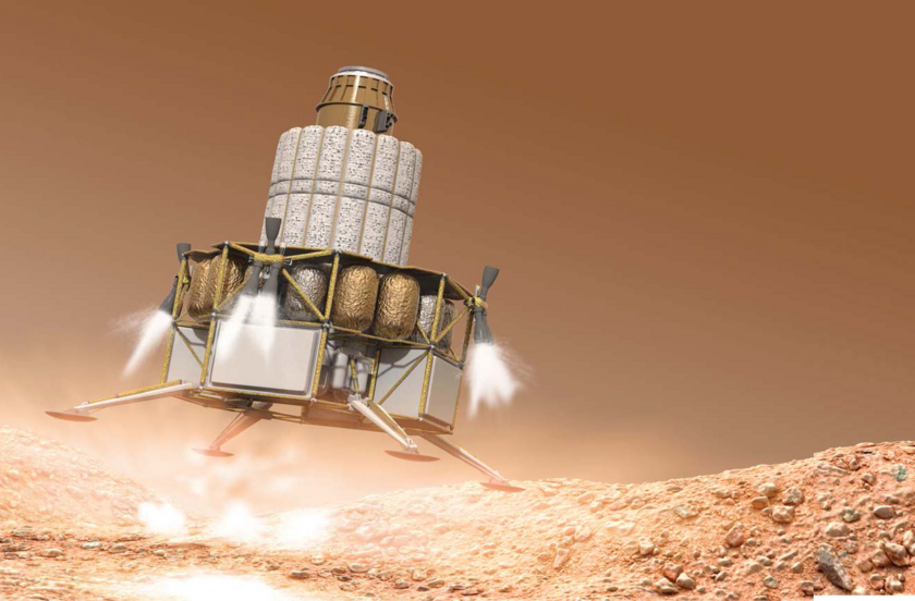 Mars lander concept