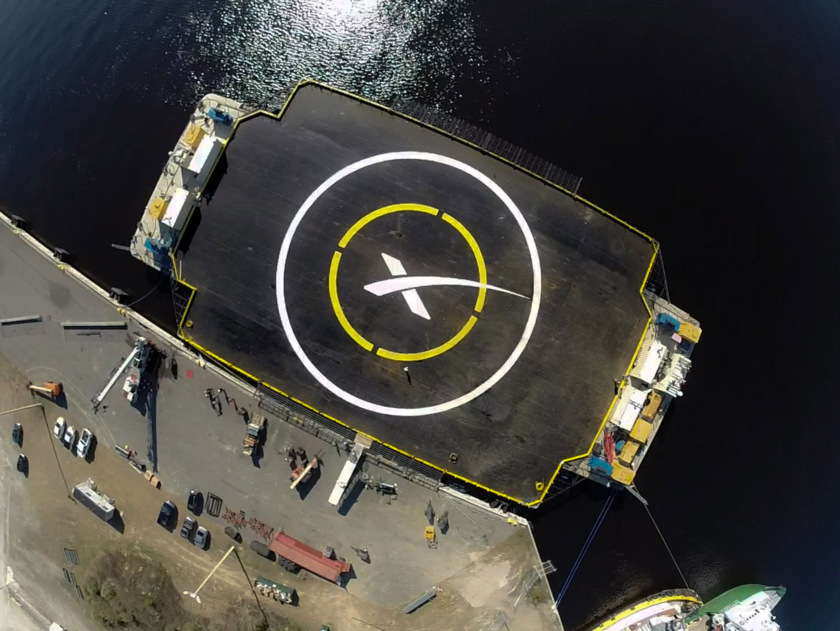 SpaceX autonomous spaceport drone ship