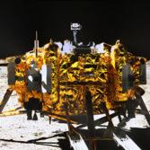 Chang'e 3 lander from Yutu, December 15, 2013