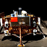 Yutu self-portrait in the Chang'e 3 lander, December 21, 2013