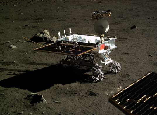 A shift in shadows for Yutu, December 19(?), 2013