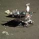 Yutu begins circumnavigating the lander, December 16, 2013