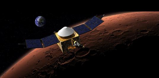 MAVEN to Mars