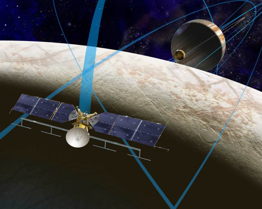Europa Flyby Concept Mission