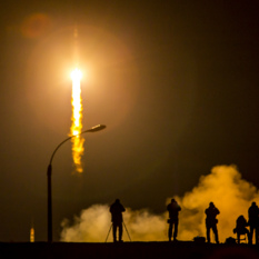 Liftoff of Soyuz TMA-16M