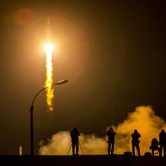 Liftoff of Soyuz TMA-16M