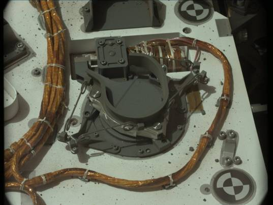 Wires on Curiosity