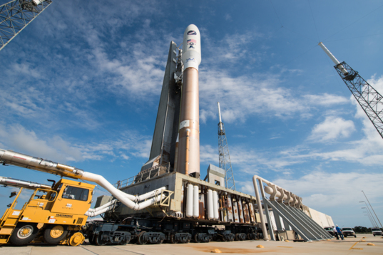 Atlas V LightSail Rollout