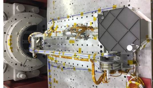 OSIRIS-REx TAGSAM arm and sample container