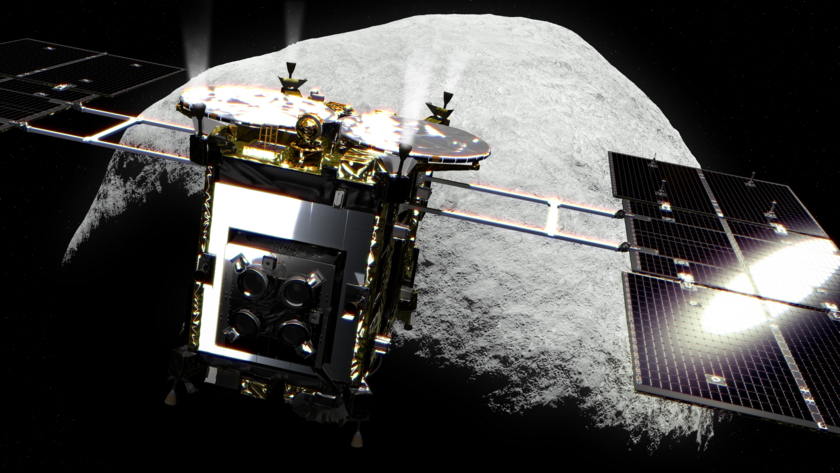 Hayabusa2 at asteroid 1999 JU3