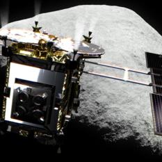 Hayabusa2 at asteroid 1999 JU3