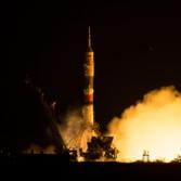 Soyuz TMA-17M liftoff