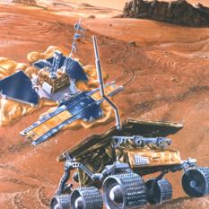 Mars Pathfinder and Sojourner rover
