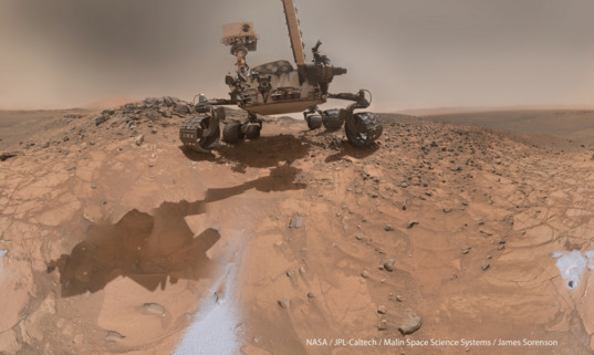 Curiosity MAHLI self-portrait, sol 1065