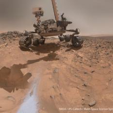 Curiosity MAHLI self-portrait, sol 1065