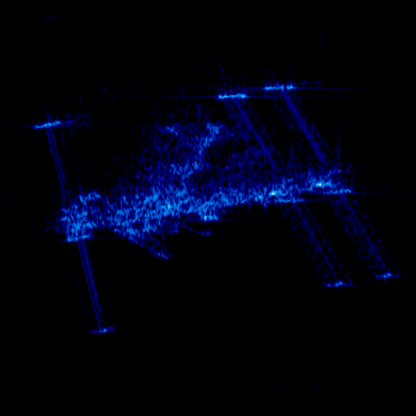 ISS in the X-band
