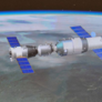 Tiangong-1 and Shenzhou-10