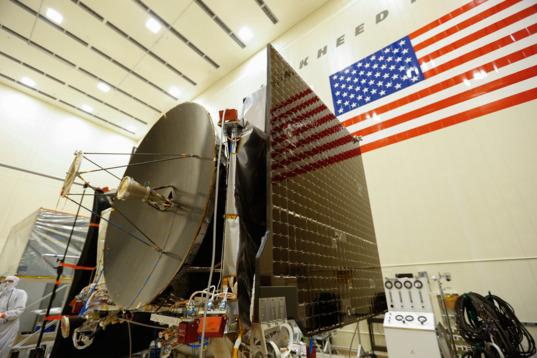 OSIRIS-REx Solar Array test