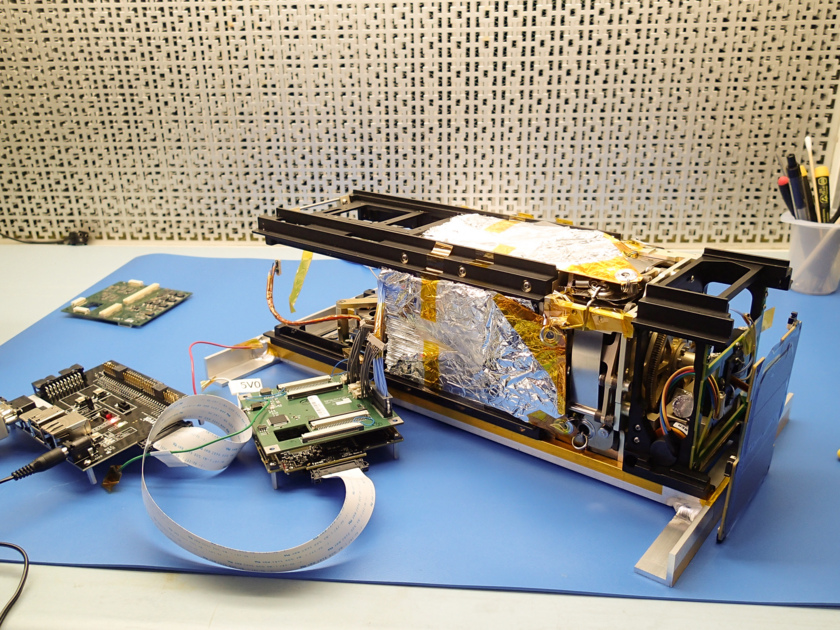 LightSail 2 on the bench