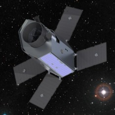 Artist's concept of the Twinkle mission