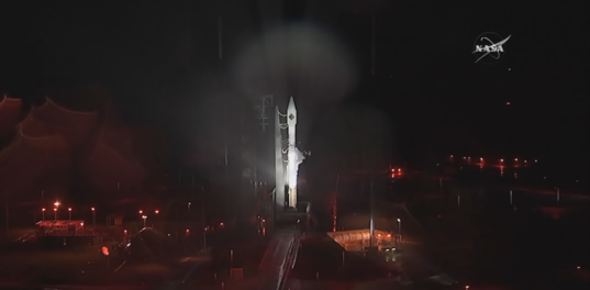 Atlas V and Cygnus rain delay