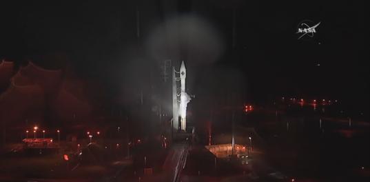 Atlas V and Cygnus rain delay