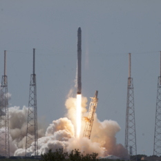 SpaceX CRS-7 liftoff