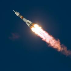 Soyuz TMA-19M liftoff