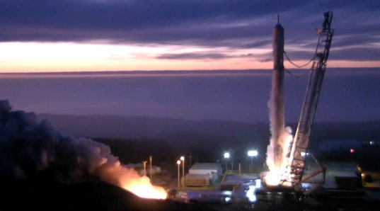 Jason-3 Falcon 9 static fire test