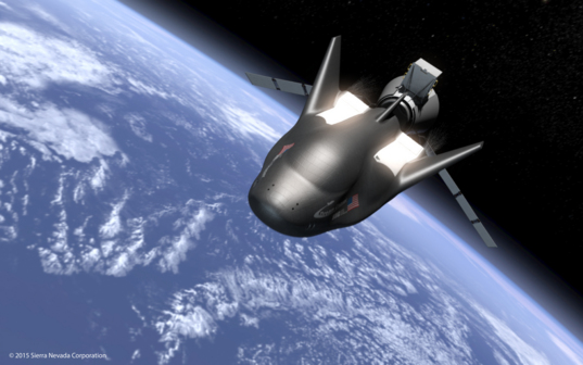 Dream Chaser in space