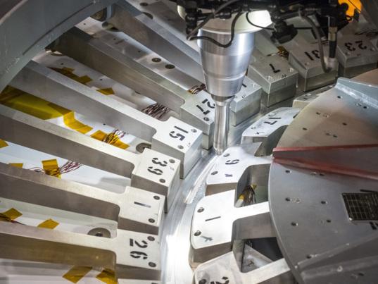 Orion EM-1 first weld