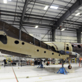 Second SpaceShipTwo under construction