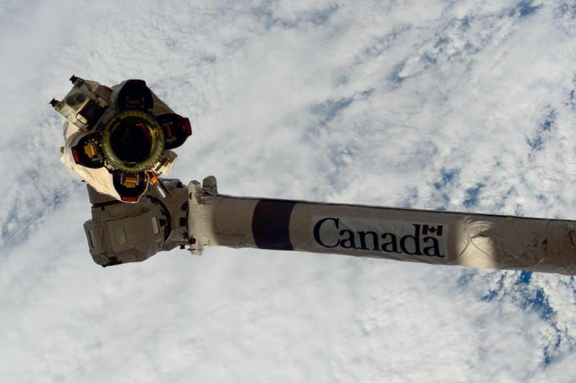 Empty Canadarm