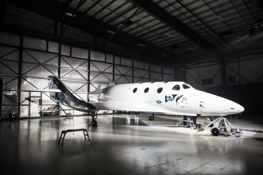 SpaceShipTwo VSS Unity