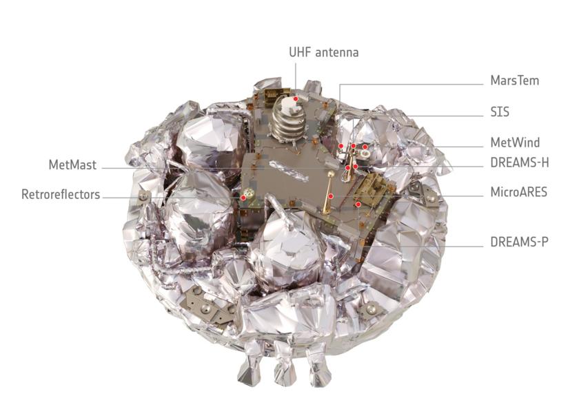 Schiaparelli demonstrator module