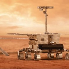 ExoMars 2020 rover on Mars