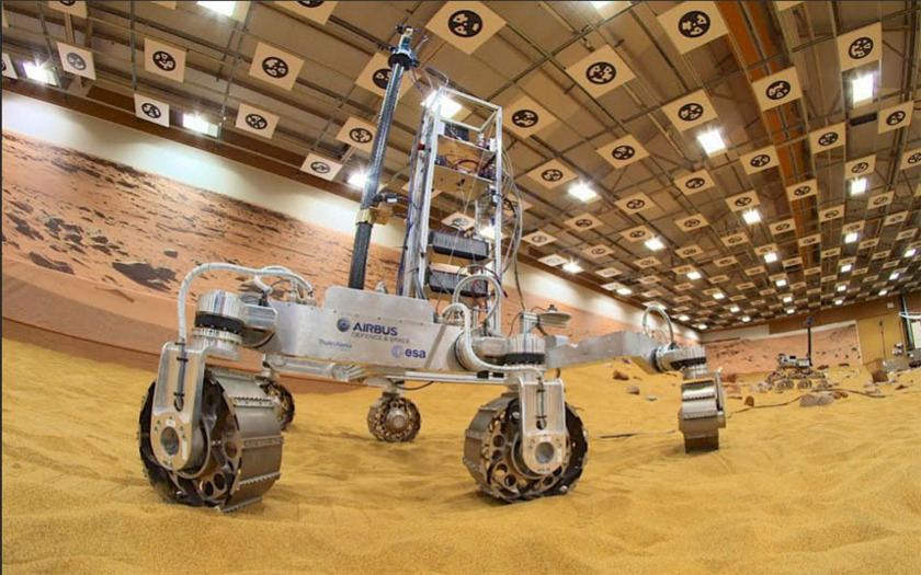 ExoMars 2020 rover tests