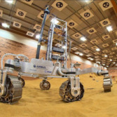 ExoMars 2018 rover tests