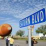 ET-94 rolls down Saturn Boulevard