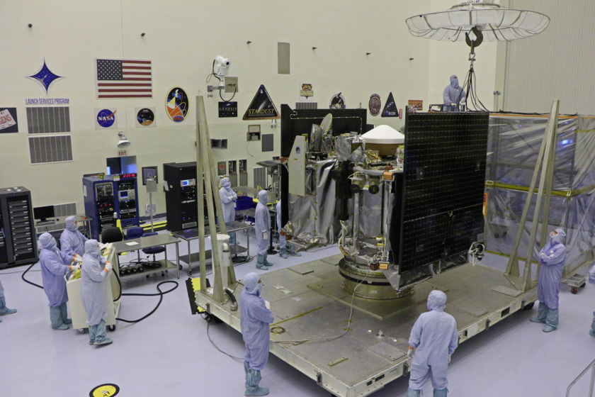 OSIRIS-REx at Kennedy Space Center for final assembly