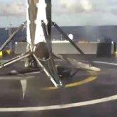 THAICOM 8 drone ship landing