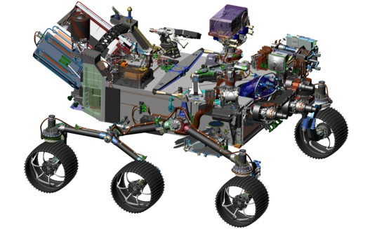 Mars 2020 rover schematic (new)