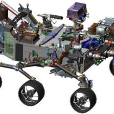 Mars 2020 rover schematic (new)