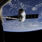 CRS-9 Dragon draws near